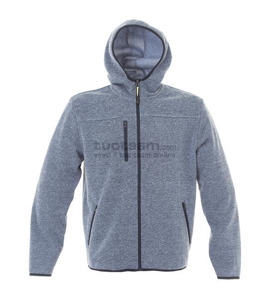 99175 - Knitted Fleece Quebec Man - LIGHTBLUE