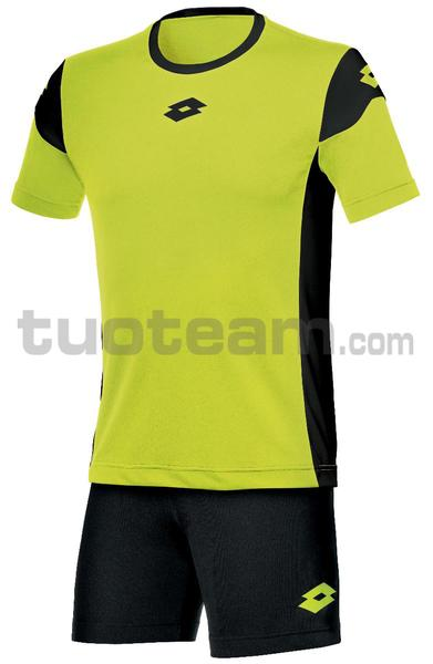 R9742 - KIT STARS EVO M/C junior giallo fluo/nero