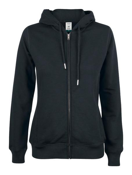 021005 - Premium O.C. Hoody Full Zip Lady - 99 nero