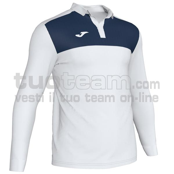 101332 - WINNER II POLO WINNER II ML 65% polyester 35% cotton - 203 BIANCO / DARK NAVY