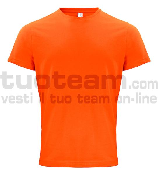 029364 - Organic Cotton T-shirt - 18 arancione