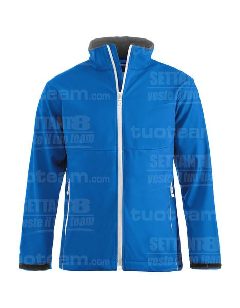 020920 - GIACCA Softshell Men - 55 royal