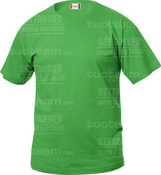 029032 - T-SHIRT Basic T Junior - 605 verde acido