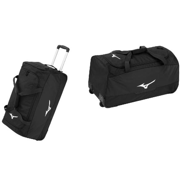 33GD8016 - TROLLEY BAG - BLACK/ WHITE