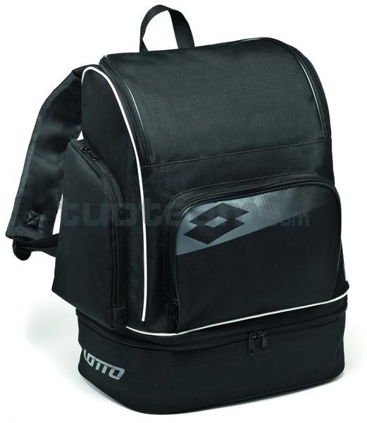 L53086 - ZAINO SOCCER OMEGA II - nero / grigio / bianco