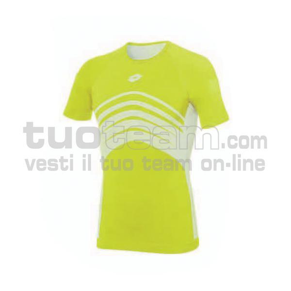 L49530 - UND TEE SML - giallo fluo