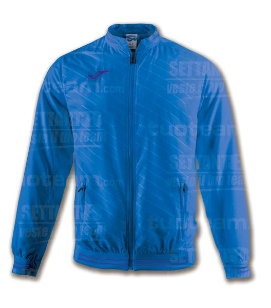 100820 - TORNEO II GIACCA FULL ZIP 100% polyester interlock - ROYAL/ROYAL SCURO