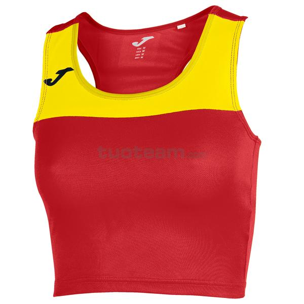 900758 - RACE WOMAN TOP RACE - 609 ROSSO / GIALLO