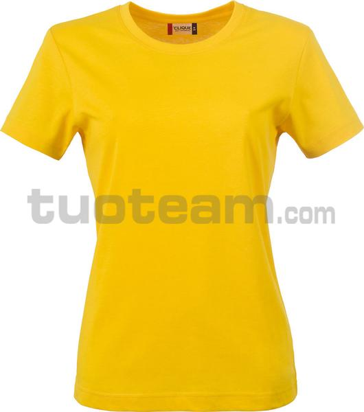 029031 - Basic-T T-SHIRT Lady - 10 giallo limone