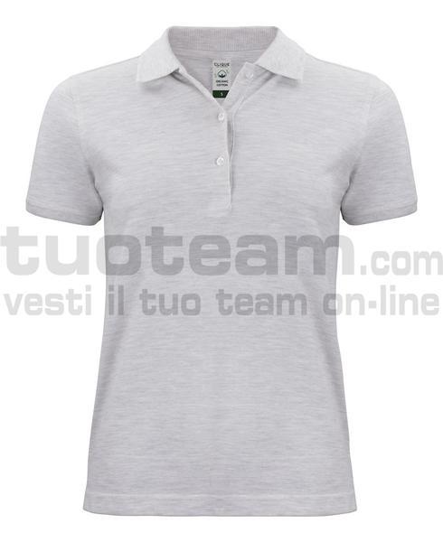 028265 - Organic Cotton Polo Lady - melange naturale