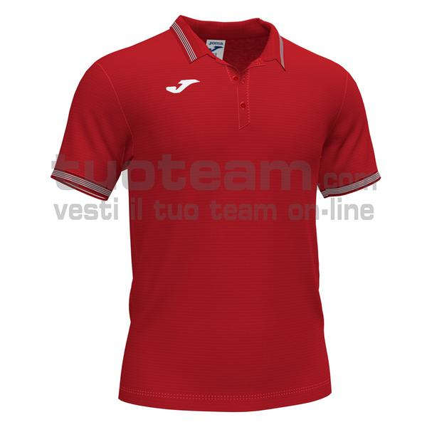 101588 - CAMPUS III POLO 100% polyester interlock - 600 ROSSO