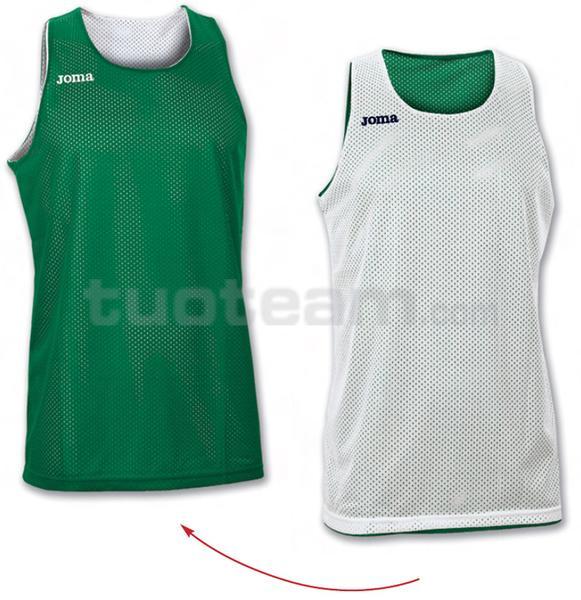 100050 - ARO MAGLIA DOUBLE 100% polyester mesh - 450 VERDE/BIANCO
