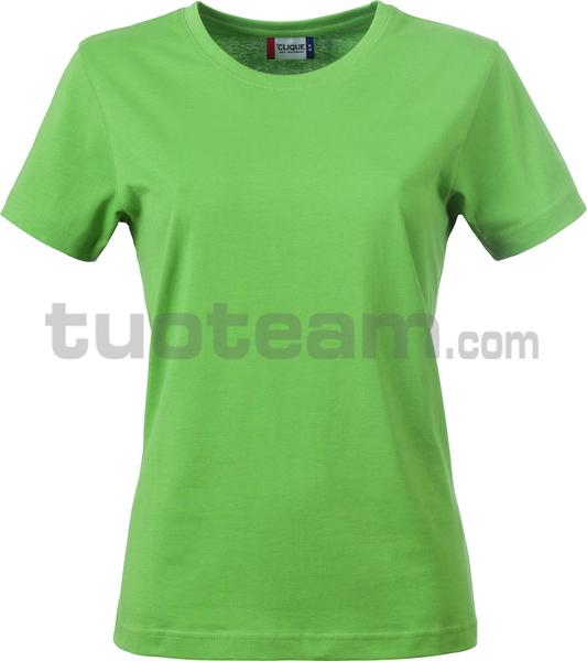 029031 - Basic-T T-SHIRT Lady - 605 verde acido