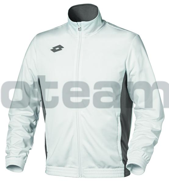 L56928 - DELTA JR SWEAT FZ PL - bianco brillante