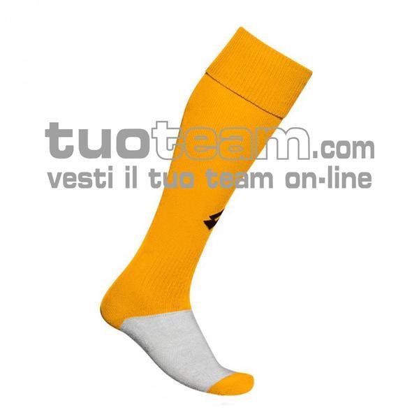 L53050 - LOGO SOCK TRNG LONG - giallo / nero
