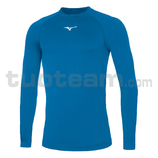 32EA7045 - Core Long sleeve underwear - Royal/White