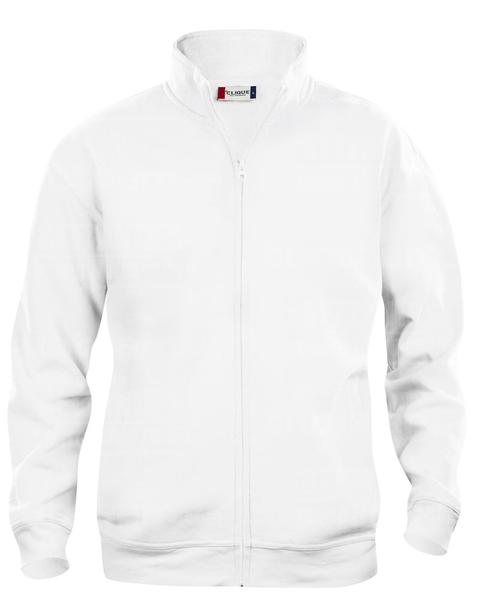 021038 - FELPA Basic Cardigan Men's - 00 bianco
