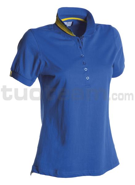 MEMPHIS LADY - Polo MEMPHIS LADY - BLU ROYAL/GIALLO-BLU NAVY