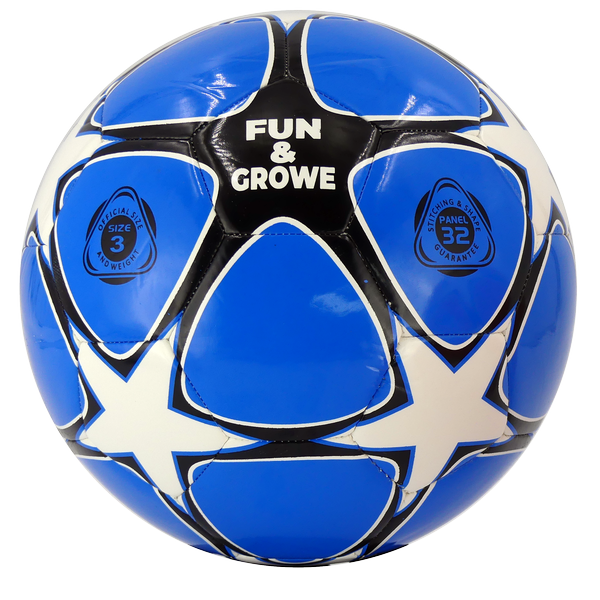 TT2000005 - PALLONE FUN & GROW - AZZURRO / BIANCO / NERO
