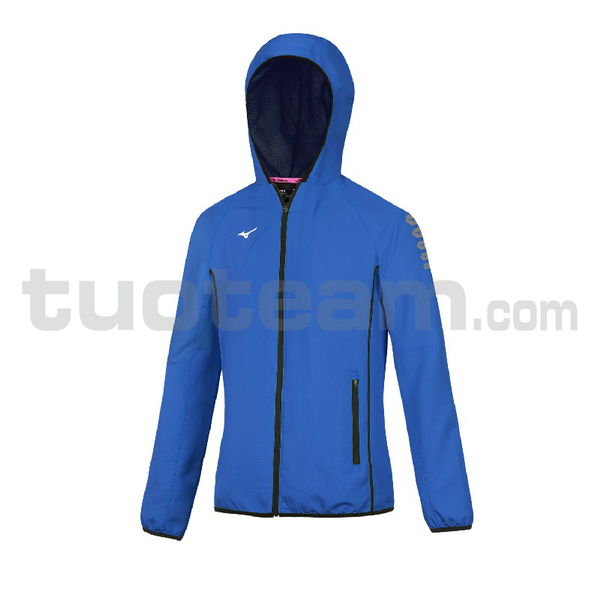 32EE7202 - micro Jacket W - Royal/White