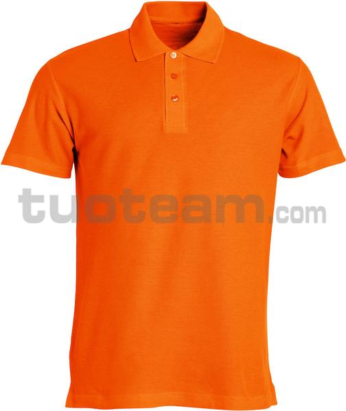 028230 - polo basic - 18 arancione