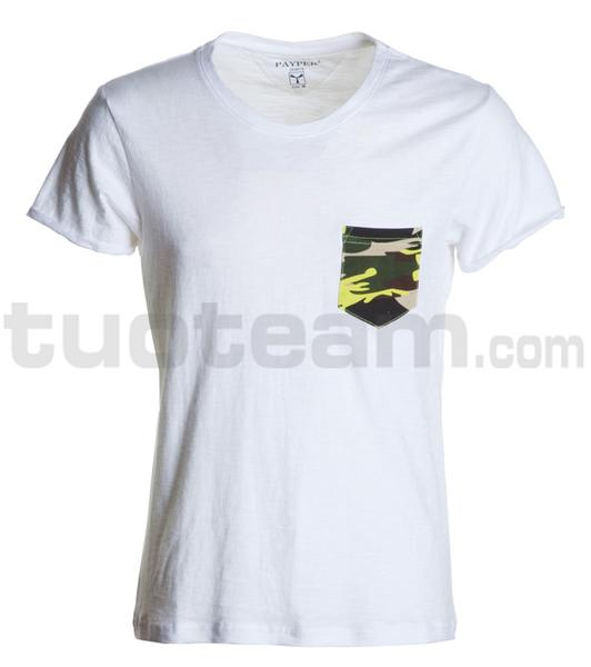 DISCOVERY POCKET - DISCOVERY POCKET - BIANCO/MIMETICO-GIALLO FLUO