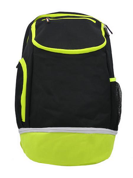 780087 - Zainetto Backpack 24 - NERO / GIALLO FLUO