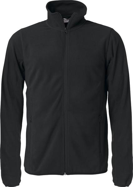 023914 - BASIC MICRO FLEECE JACKET - Giacca in micropile - 99 nero