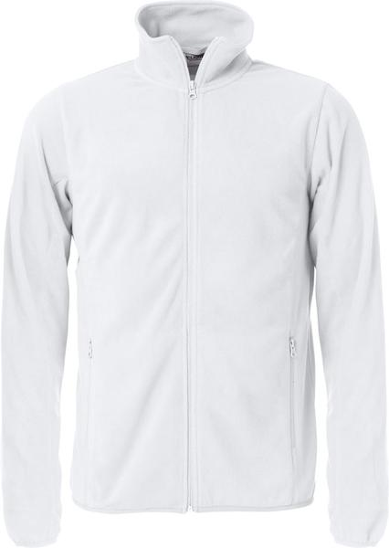 023914 - BASIC MICRO FLEECE JACKET - Giacca in micropile - 00 bianco