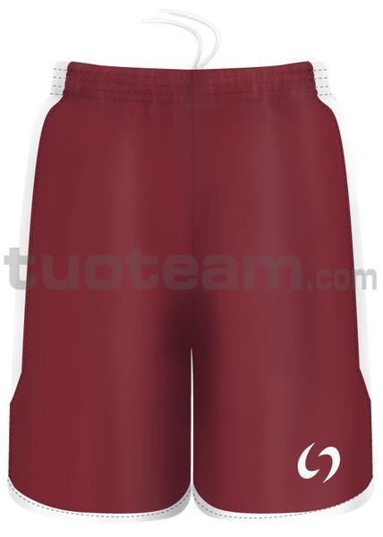 7259 - pantaloncino KENIA - BORDEAUX / BIANCO