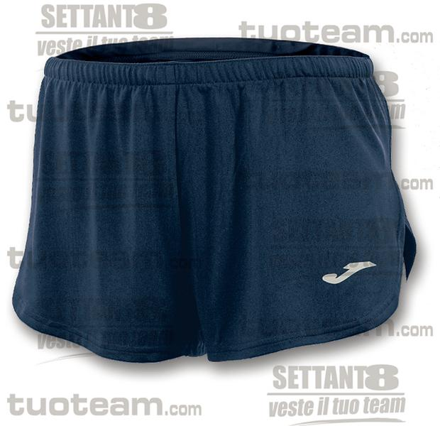 100091 - RECORD SHORT 100% polyester interlock - BLU NAVY