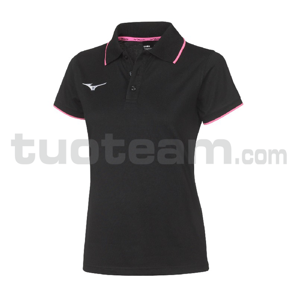 32EA7241 - polo W - Black/Black