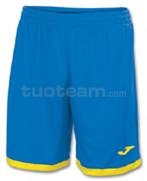 100006 - TOLEDO SHORT 100% polyester interlock - 709 BLU/GIALLO