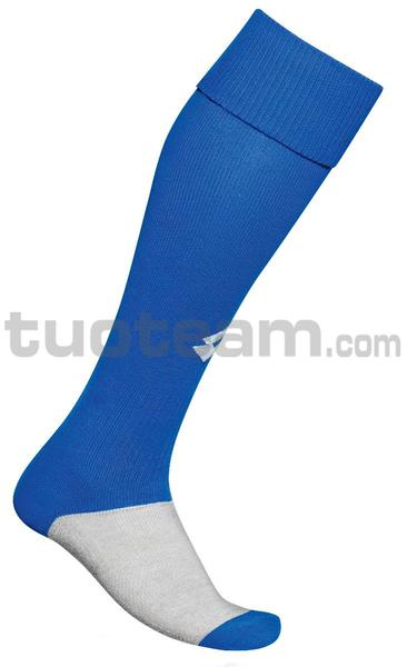 S3769 - CALZA LONG LOGO royal - BLU ROYAL