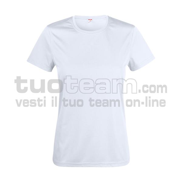 029039 - Basic Active-T Ladies - 00 bianco