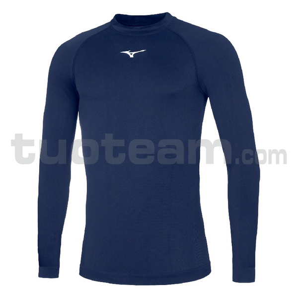 32EA7045 - Core Long sleeve underwear - Navy/White