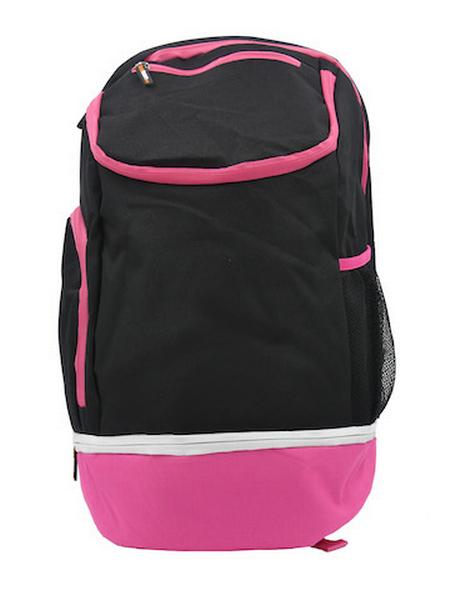 780087 - Zainetto Backpack 24 - NERO / FUSCIA FLUO