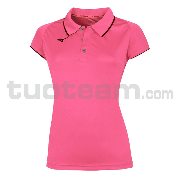 32EA7201 - Core polo W - Pink Fluo/Navy