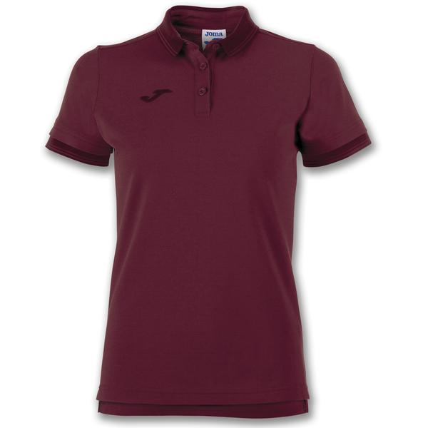 900444 - POLO BALI II WOMAN 65% polyester 35% cotton - 650 BORDEAUX