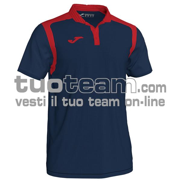 101265 - CHAMPIONSHIP V POLO 100% polyester interlock - 336 DARK NAVY / ROSSO