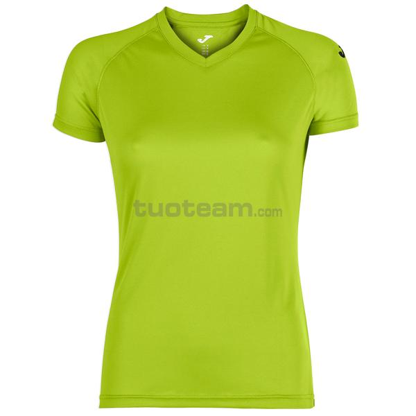 900475 - MAGLIA EVENTOS WOMAN 100% polyester mesh PACK/25 - 400 LIME