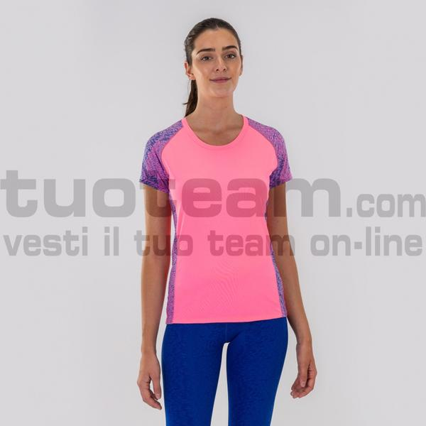 900957 - TABARCA T-SHIRT 90% polyester 10% spandex - ROSA FLUO