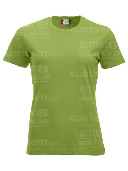 029361 - T-SHIRT New Classic T Lady - 67 verde mela