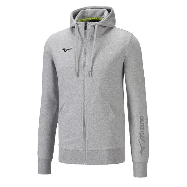 32EC8900 - SWEAT FZ FELPA JUNIOR - Heather Grey/Navy
