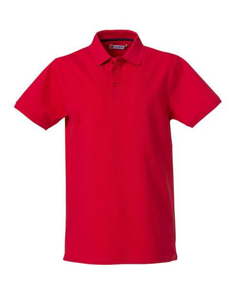 028260 - Heavy Premium Polo - 35 rosso