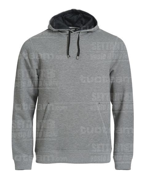 021041 - FELPA Classic Hoody - 95 grigio melange