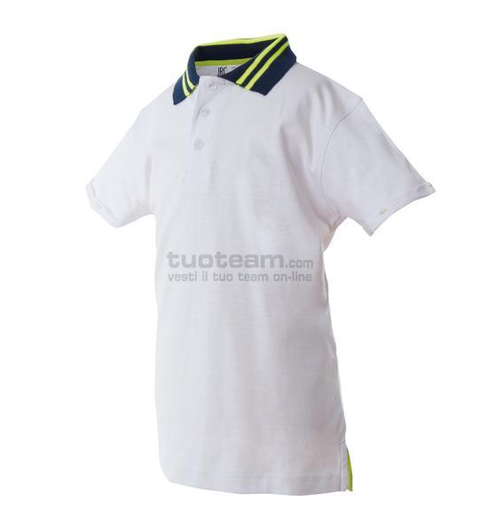 99016 - Polo Tenerife Boy - BIANCO