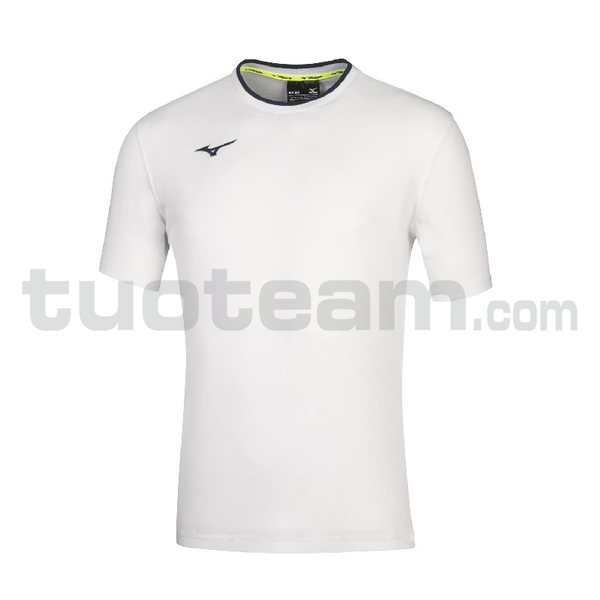 32EA7040 - mizuno t-shirt - White/Royal