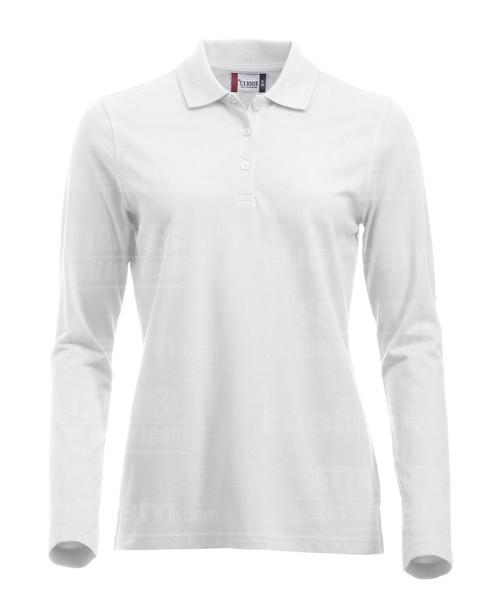 028247 - POLO New Classic Marion L/S - 00 bianco