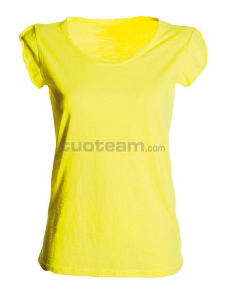 NEUTRAL-DISCOVERY LD - T-SHIRT NEUTRAL-DISCOVERY LD - GIALLO FLUO